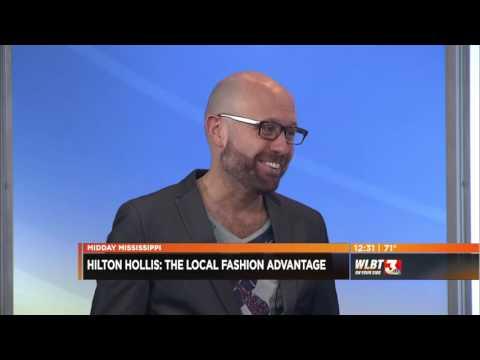 Hilton Hollis Promotes Local Fashion Advantage on Midday Mississippi