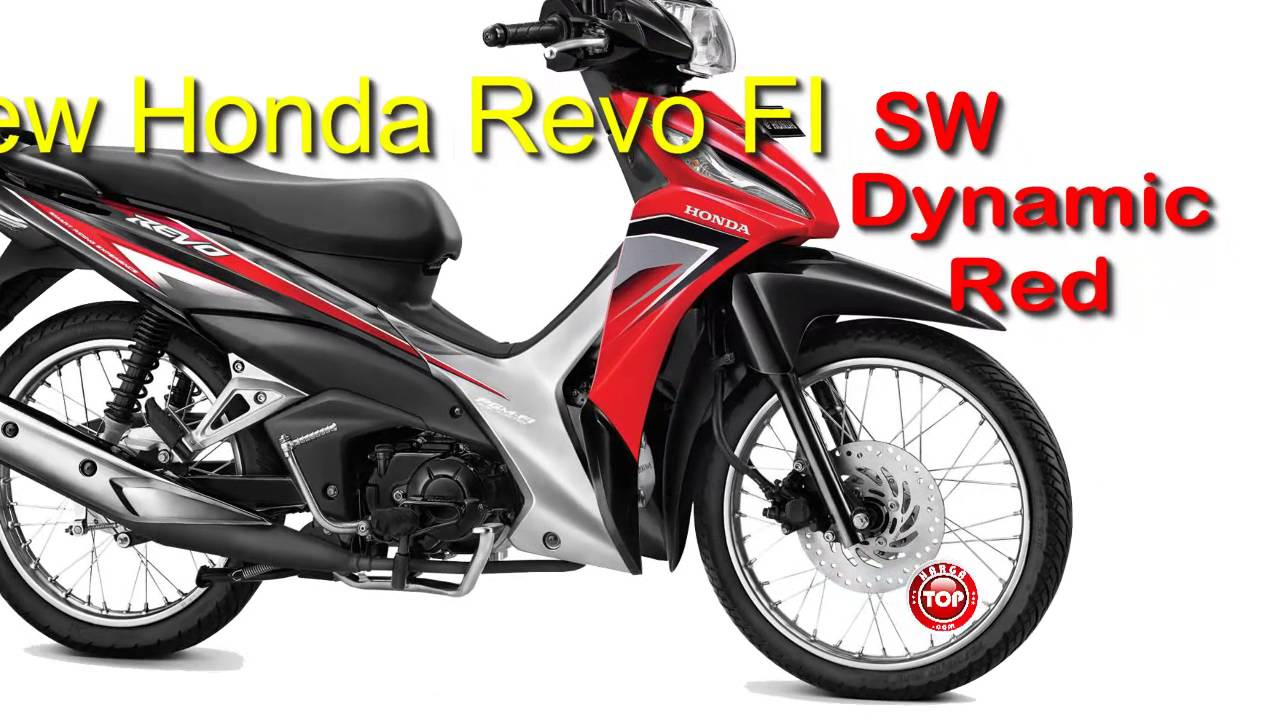 Motor New Honda Revo FI Tipe CW FIT SW Harga YouTube