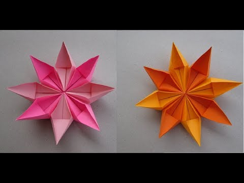 Flower Paper easy making craft | How to & Origami | Cindy DIY