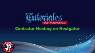 Contratar hosting con Hostgator