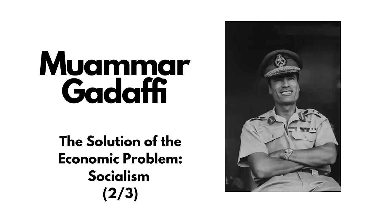 Gaddafi Green Book Pdf