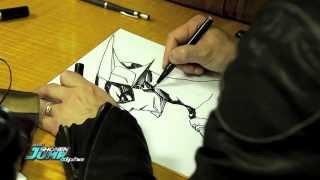 Masakazu Katsura drawing Jin from Zetman