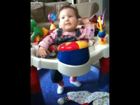 Brianna 7 Mo Old With Spina Bifida Jumping Youtube