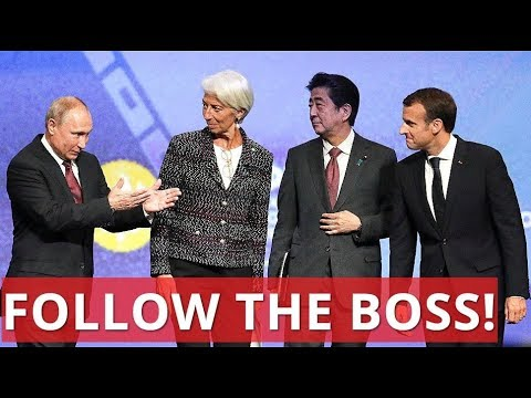 WHAT SANCTIONS? Best Moments From Putin, Abe, Macron and Lagarde Meeting At SPIEF-2018