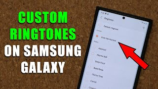 How to Set ANY Song as Custom Ringtone on your Samsung Galaxy Smartphone