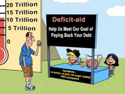 us federal deficit spending youtube
