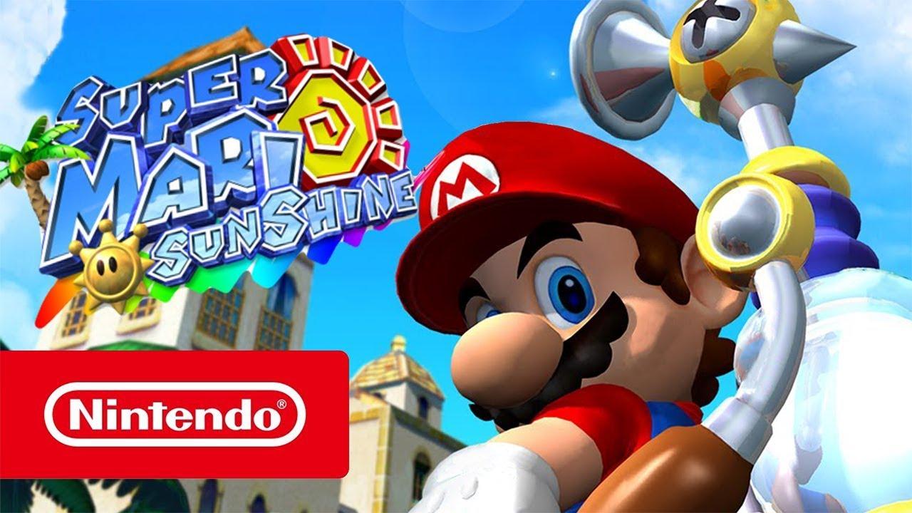 Super Mario Sunshine for Nintendo Switch