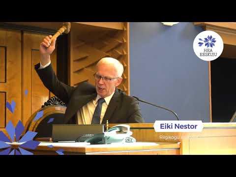 Hea Eeskuju 2017 üleskutse: patroon Eiki Nestor