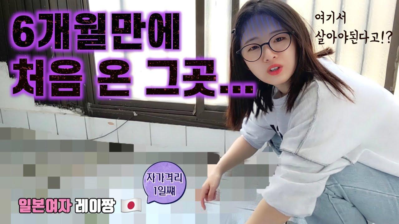 한국에 와서 청소부가 되었습니다 | 일본여자 레이짱(SUB)