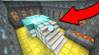 How To Make a New Portal in Minecraft Pocket Edition (Portal Trick)