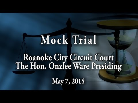 Paralegal Mock Trial