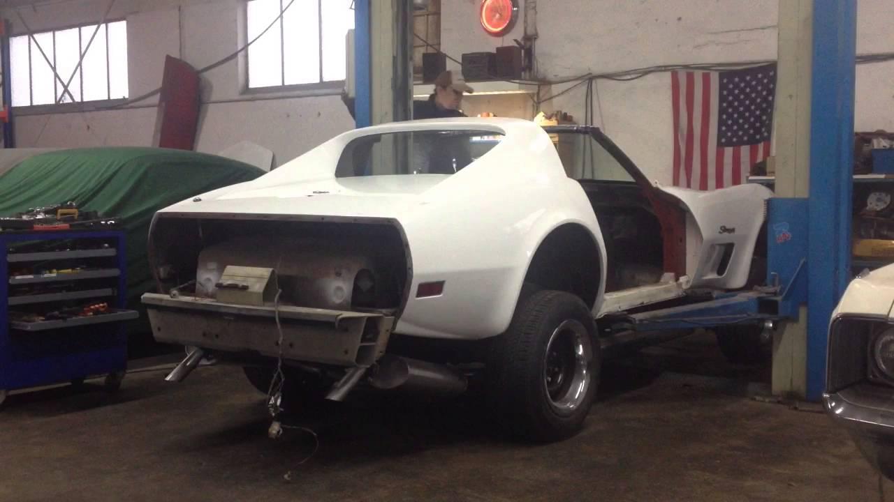 Corvette C3 Birdcage Rust Repair Part 4 - Body Lift!