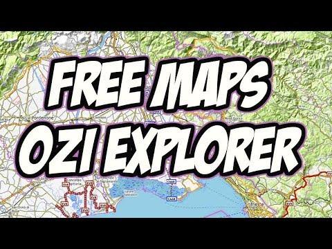 mappe per oziexplorer