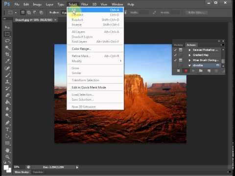 Урок 2. Автоматизация Adobe Photoshop CS6. Создание макроса обводки изображений