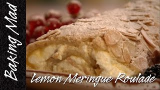 Eric Lanlard's Lemon Meringue Roulade