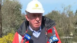 GBM Gold  featured on Channel Nine News Central Victoria on 20th September 2017