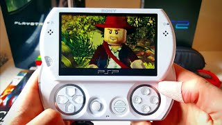 LEGO Indiana Jones Gameplay - PSP Go 2019