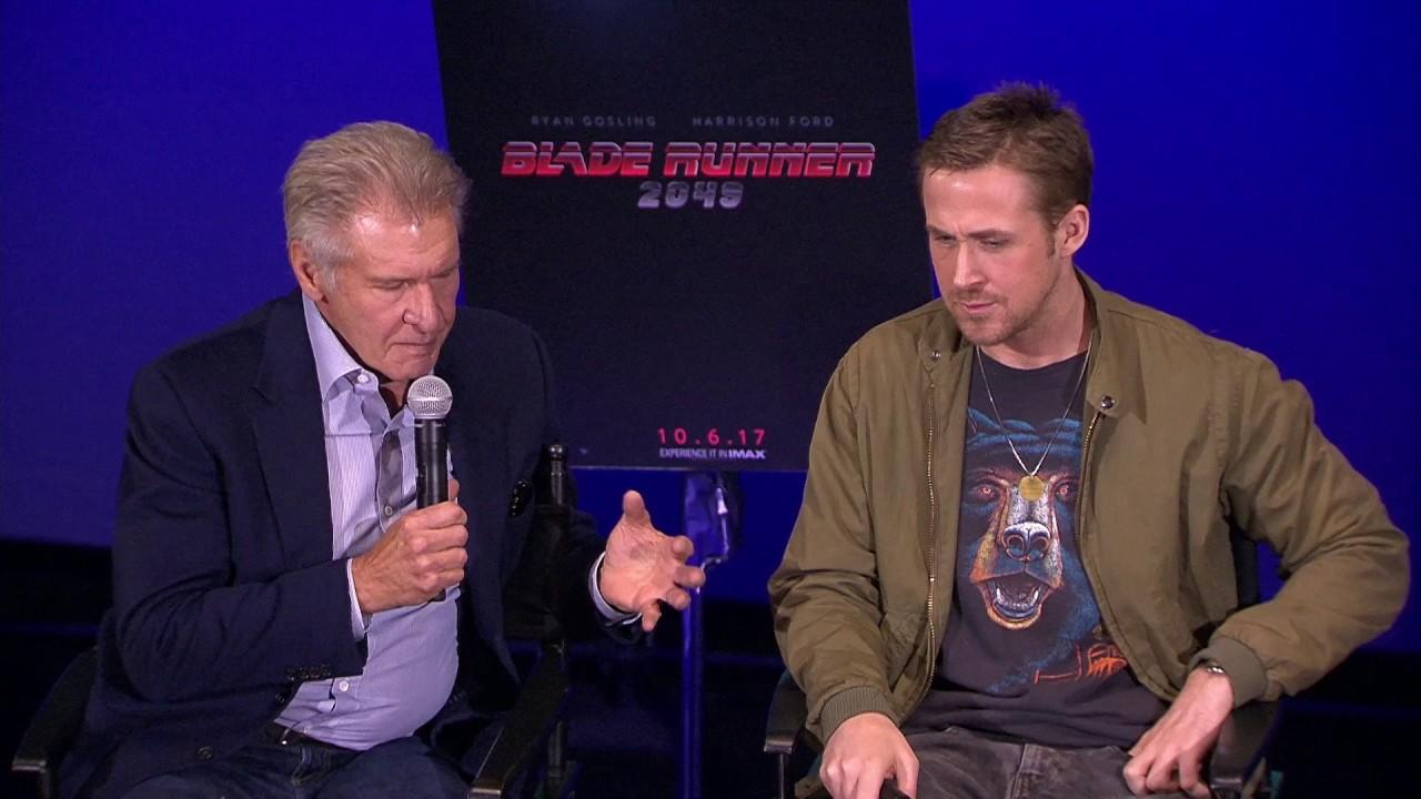 Harrison Ford schools Ryan Gosling in new 'Blade Runner 2049' trailer: I was ...