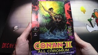 Details about  /1994 CONAN II ALL CHROMIUM PROMO CARD