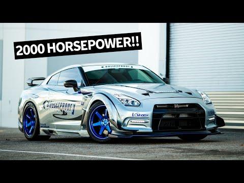2000hp Nissan GTR: