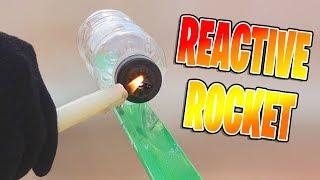Simple Reactive Rocket