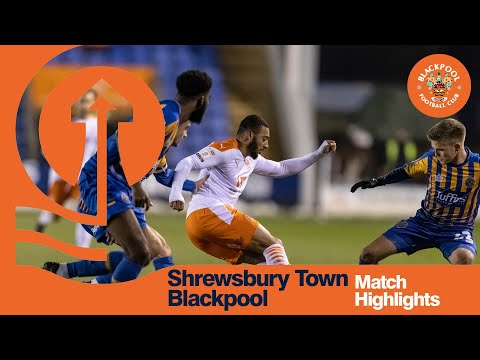 Shrewsbury Blackpool Goals And Highlights