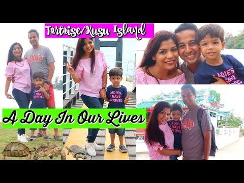 Kusu Tortoise Island Singapore Vlog| A Day In Our Lives | SuperPrincessjo