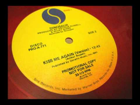 "Dinosaur - Kiss Me Again 12"" (Side B, 1978)"