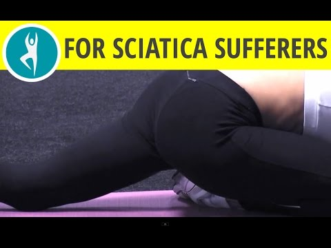 Stretch your gluts: buttocks stretching for piriformis muscle - appropriate for sciatica sufferers