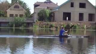тренировка по гребле на байдарках и каноэ(отрвок видео, отрезки по пол часа...), 2013-01-20T19:03:39.000Z)