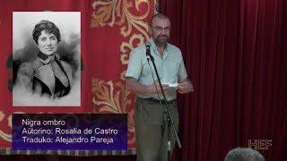 Nigra ombro · Rosalia de Castro · Esperanto