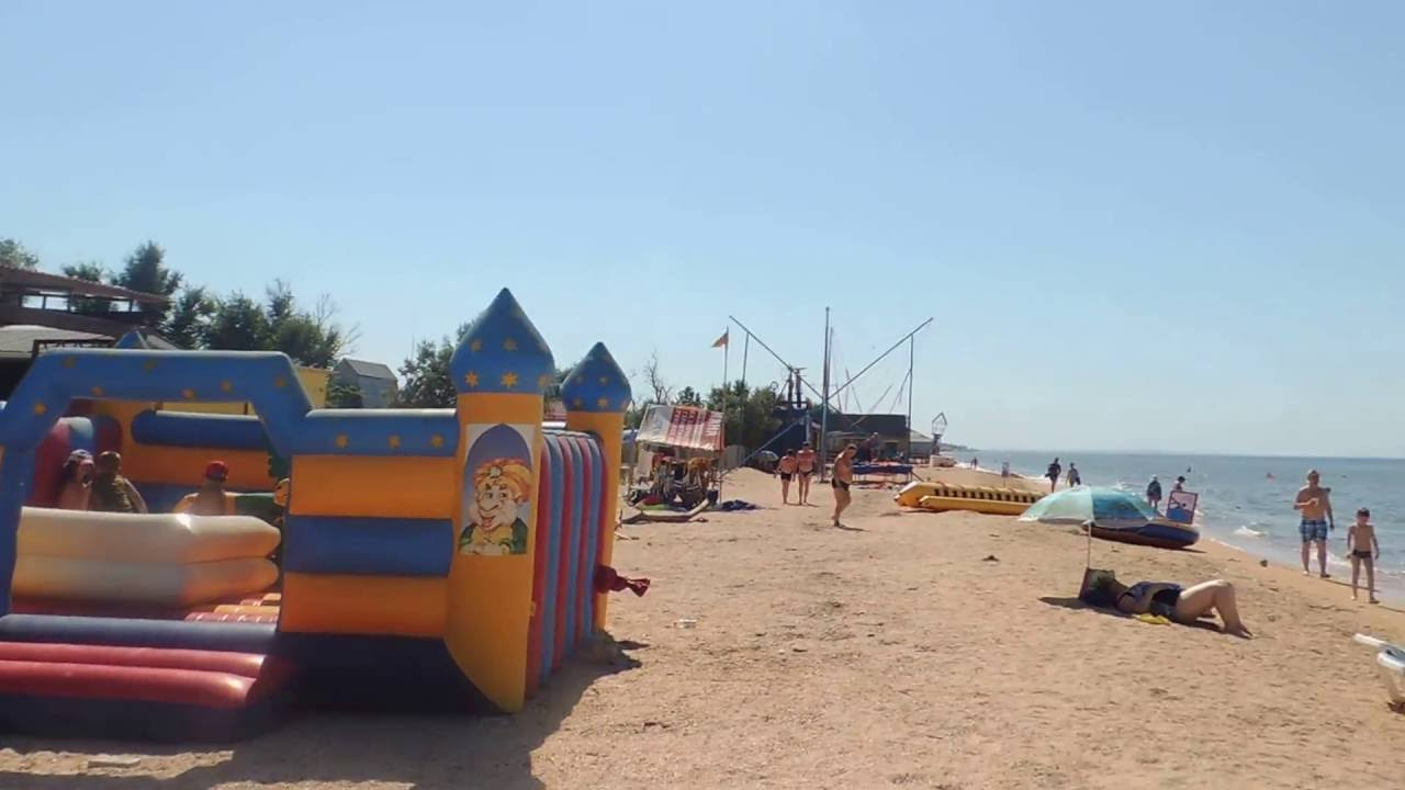 голубицкая 2016 фото поселка и пляжа 2016
