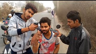Gun Prank  (Pranks in India)- Go ROFL