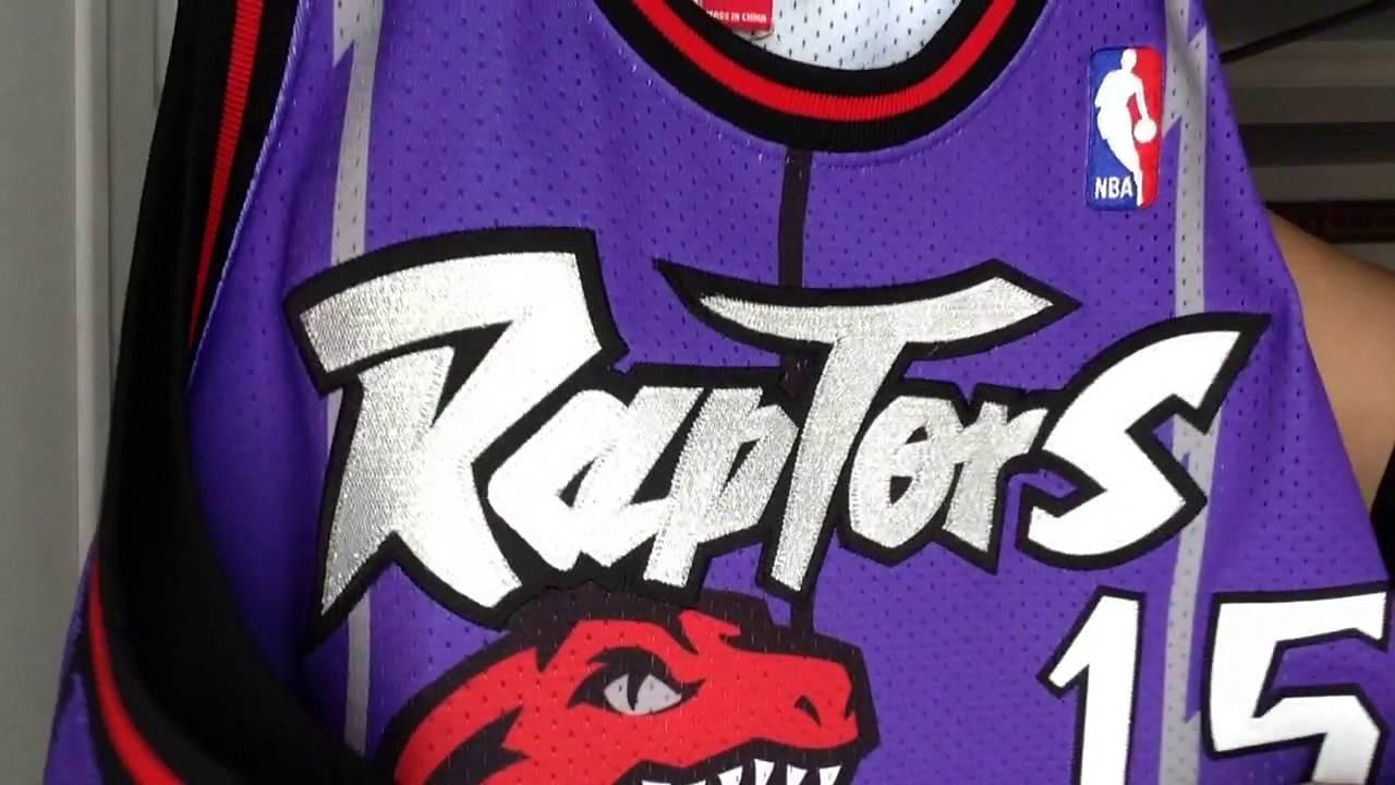 Toronto Raptors Vince Carter Jersey - YouTube 0b79adda1