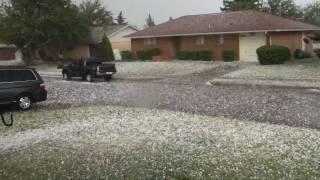 Altus Hail Storm - Golf Ball Size - June 16 2011 - Oklahoma
