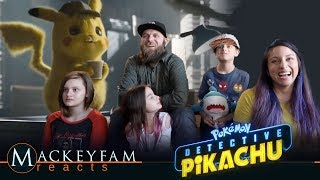 POKÉMON Detective Pikachu - Official Trailer 2- REACTION and REVIEW!!!
