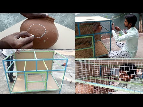 How To Make Love Birds Cage At Home || Love Birds House Design