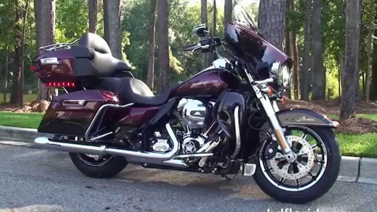 New 2015 harley davidson ultra limited low motorcycles for sale youtube