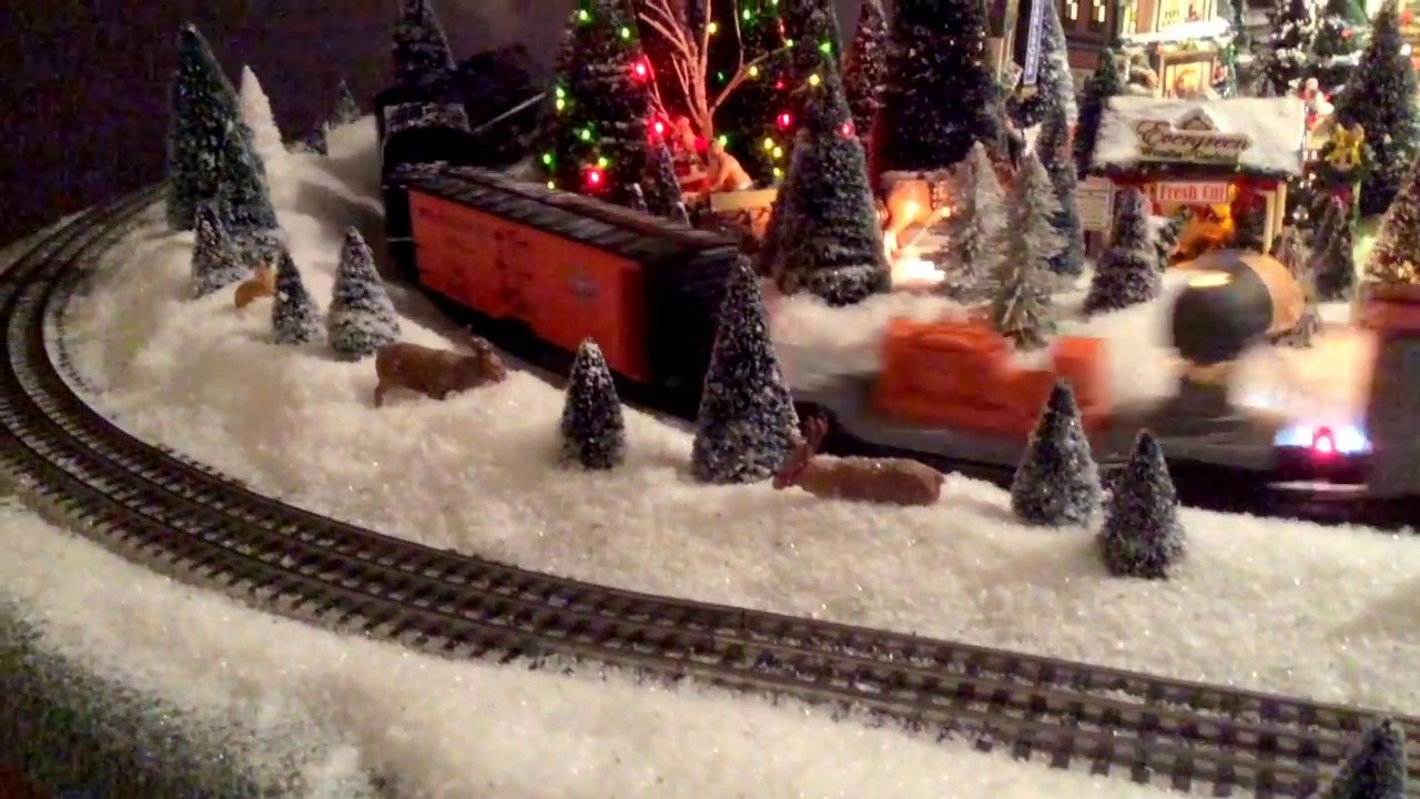 lionel christmas trains 2016 youtube