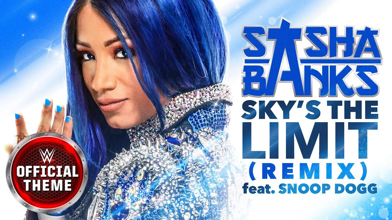 Sasha Banks - Sky's the Limit (Remix) [Entrance Theme] feat. Snoop Dogg