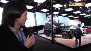 ММАС 2012. Презентация Mercedes-Benz GL 63 AMG