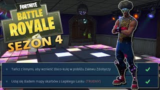 Fortnite-season 4: dance with others, to erect a disco-ball, go track maps with Sticky Woods