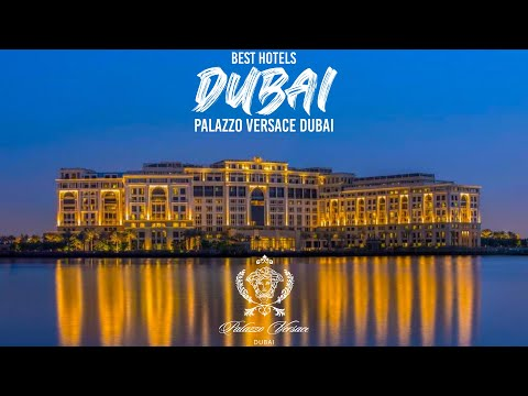 Best Hotels Dubai 2021. PALAZZO VERSACE HOTEL DUBAI. Luxury Travel Dubai. Luxury Hotel Tour