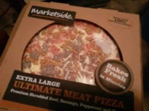 look at this xlarge marketside pizza now at walmart youtube. Black Bedroom Furniture Sets. Home Design Ideas