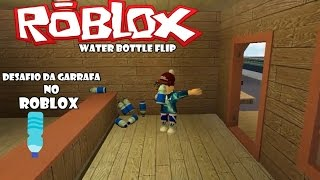 Water BOTTLE Flip Roblox CHALLENGE