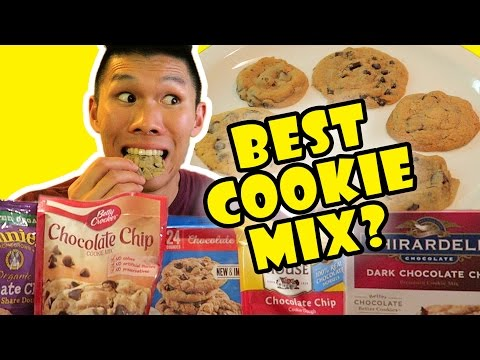 COMPARING BEST CHOCOLATE CHIP COOKIE MIXES || Life After College: Ep. 521