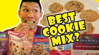 comparing best chocolate chip cookie mixes    life after college ep 521