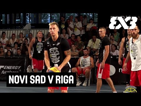 Novi Sad v Riga - Full Final Game - FIBA 3x3 Bucharest Challenger 2018