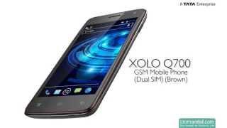 XOLO Q700 GSM Mobile Phone (Dual SIM) (Brown)