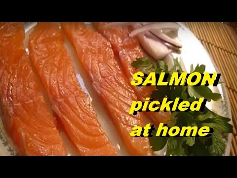 RECIPES BEST SALMON PICKLED AT HOME #pickledsalmon